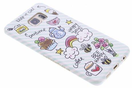 Samsung Galaxy S6 Edge Plus hoesje - Blond Amsterdam Design Backcover