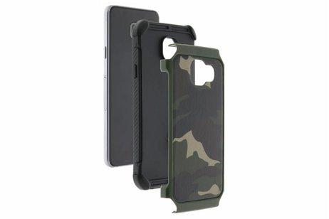 Samsung Galaxy S6 hoesje - Army Defender Backcover voor