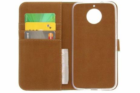Motorola Moto G5S Plus hoesje - Selencia Luxe Softcase Booktype