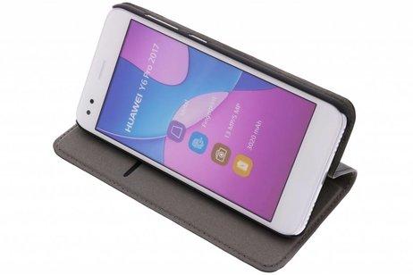 Huawei P9 Lite Mini hoesje - Effen Hardcase Booktype voor