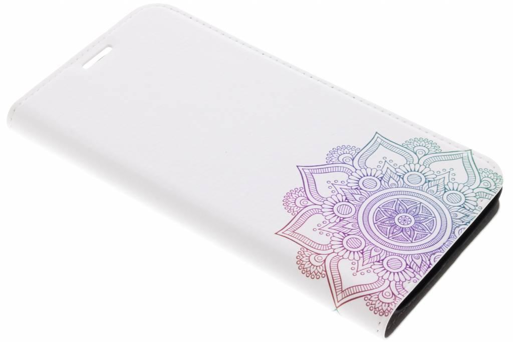 Design Hardcase Booktype voor Motorola Moto G5S Plus - Mandala Multicolor