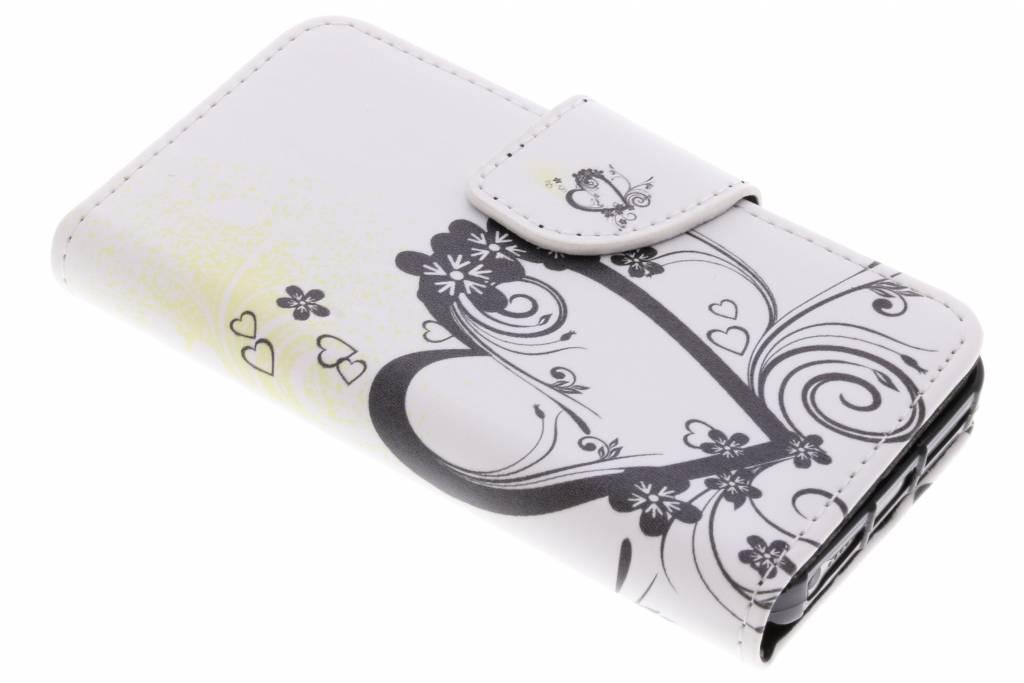 Design Softcase Booktype voor iPhone SE / 5 / 5s