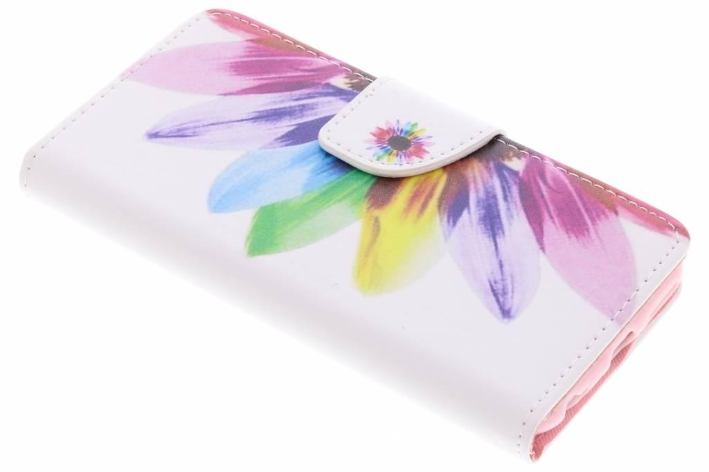 Regenboog design TPU booktype hoes voor de iPhone 6 / 6s
