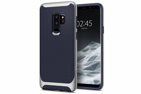 Spigen Neo Hybrid Backcover voor Samsung Galaxy S9 Plus - Zilver