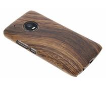 Hout design hardcase Motorola Moto G5 Plus