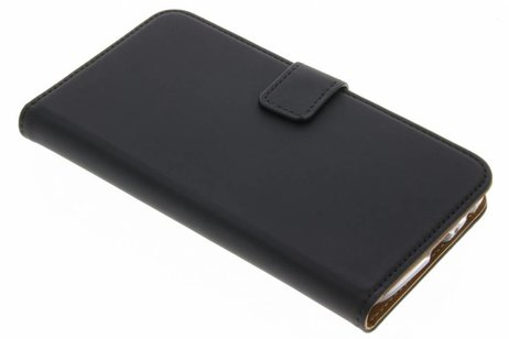 Selencia Luxe Softcase Booktype voor Motorola Moto G5 Plus - Zwart