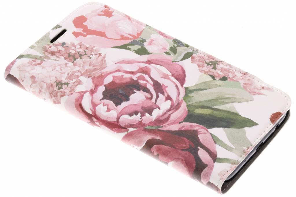 Design Hardcase Booktype voor Samsung Galaxy J5 (2017) - Romantic Bloemen