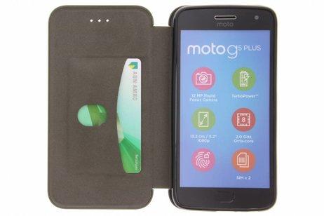 Motorola Moto G5 Plus hoesje - Army Slim Folio Booktype
