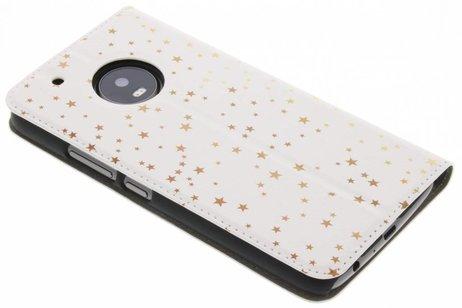 Design Hardcase Booktype voor Motorola Moto G5 Plus - Quote