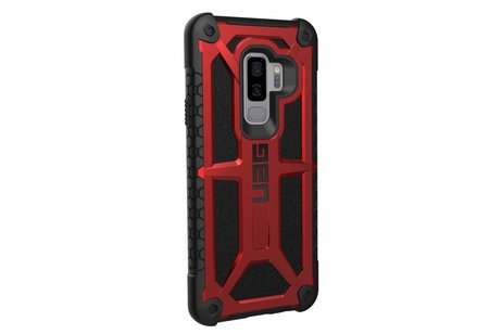 UAG Monarch Backcover voor Samsung Galaxy S9 Plus - Rood