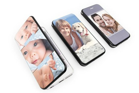Motorola Moto G4 (Plus) gel booktype hoes ontwerpen (eenzijdig)