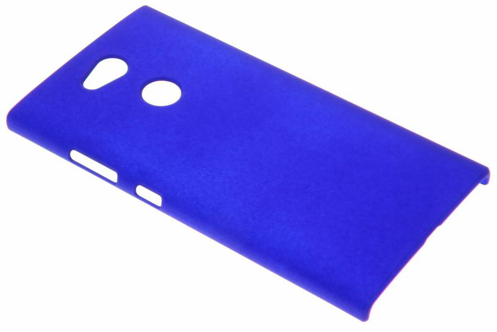 Effen Backcover voor Sony Xperia L2 - Blauw