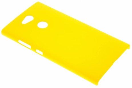 Effen Backcover voor Sony Xperia L2 - Geel