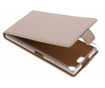 Selencia Luxe Softcase Flipcase Sony Xperia XZ1 Compact