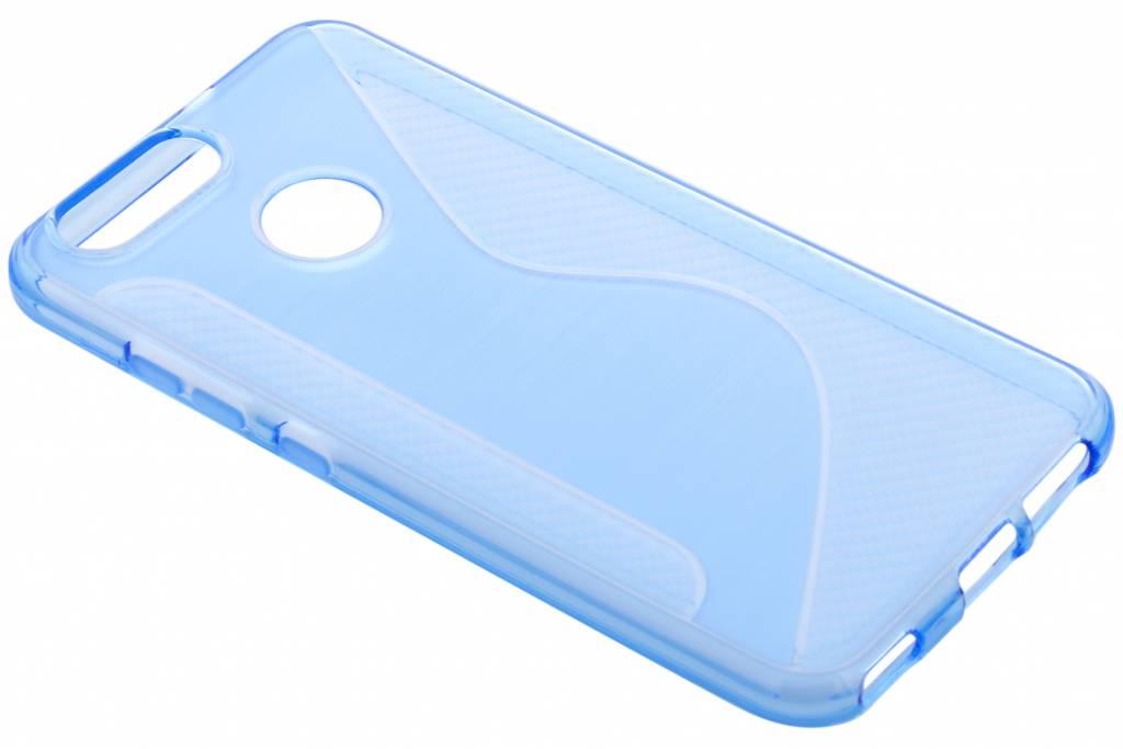 S-line Backcover voor Huawei Nova 2 - Blauw