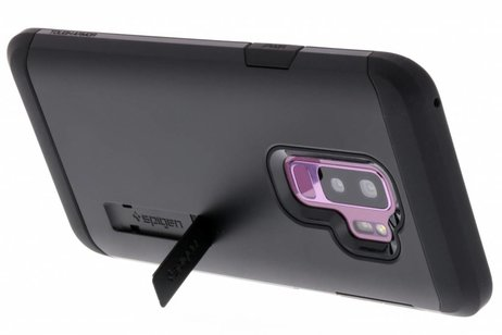 Spigen Tough Armor Backcover voor Samsung Galaxy S9 Plus - Zwart