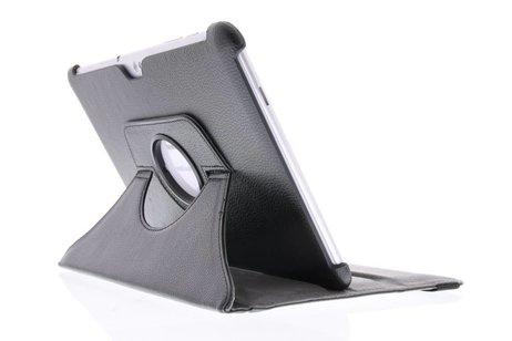 360° Draaibare Bookcase voor Samsung Galaxy Tab 2 10.1 - Zwart