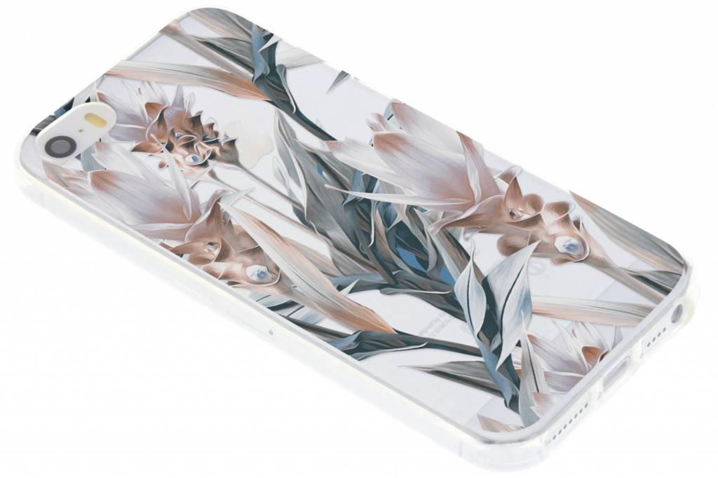 Design Backcover voor iPhone SE / 5 / 5s - Delicate Pastel Bloemen