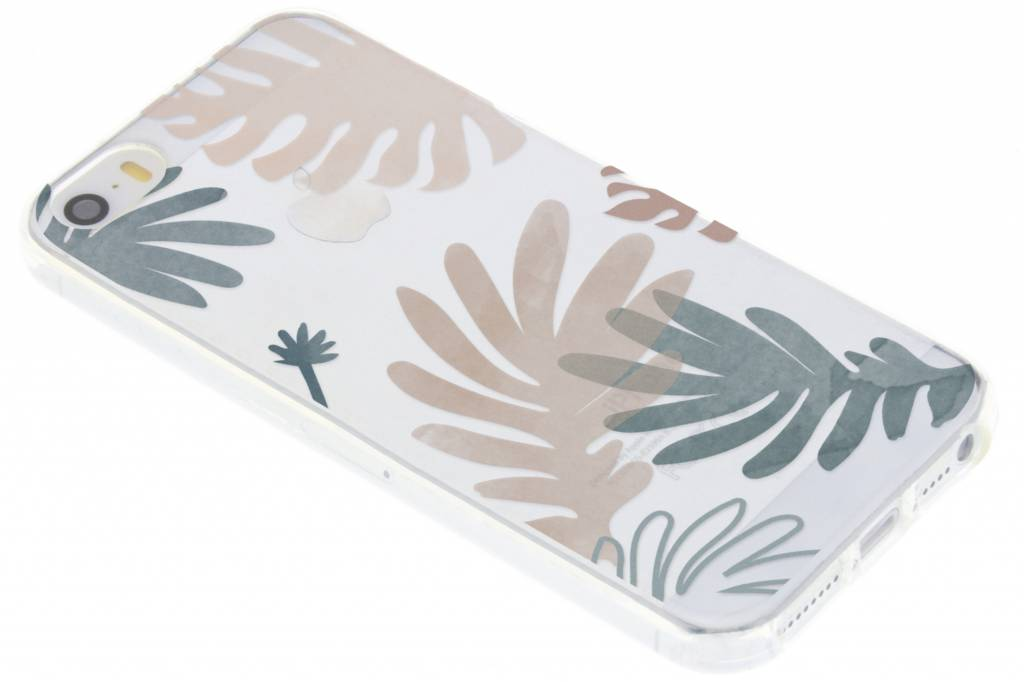 Design Backcover voor iPhone SE / 5 / 5s - Delicate Botanic