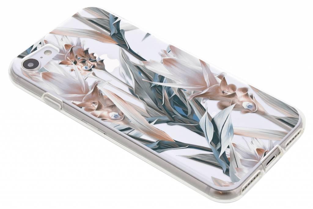 Design Backcover voor iPhone 8 / 7 - Delicate Pastel Bloemen