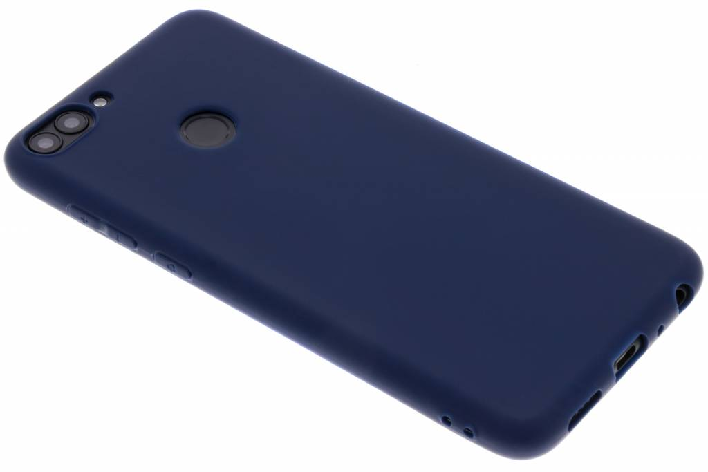 Color Backcover voor Huawei P Smart - Donkerblauw