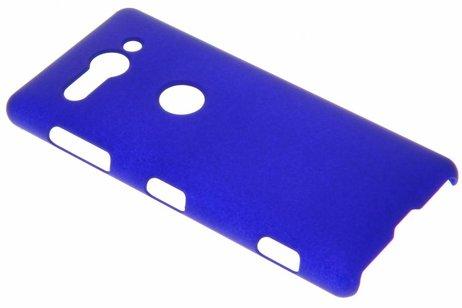 Effen Backcover voor Sony Xperia XZ2 Compact - Blauw