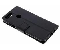 Zwart TPU Bookcase Asus ZenFone Max Plus