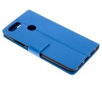 Blauw TPU Bookcase Asus ZenFone Max Plus