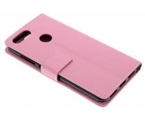 Roze TPU Bookcase Asus ZenFone Max Plus