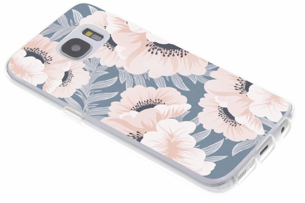 Design Backcover voor Samsung Galaxy S7 - Delicate Bloemen Natuur