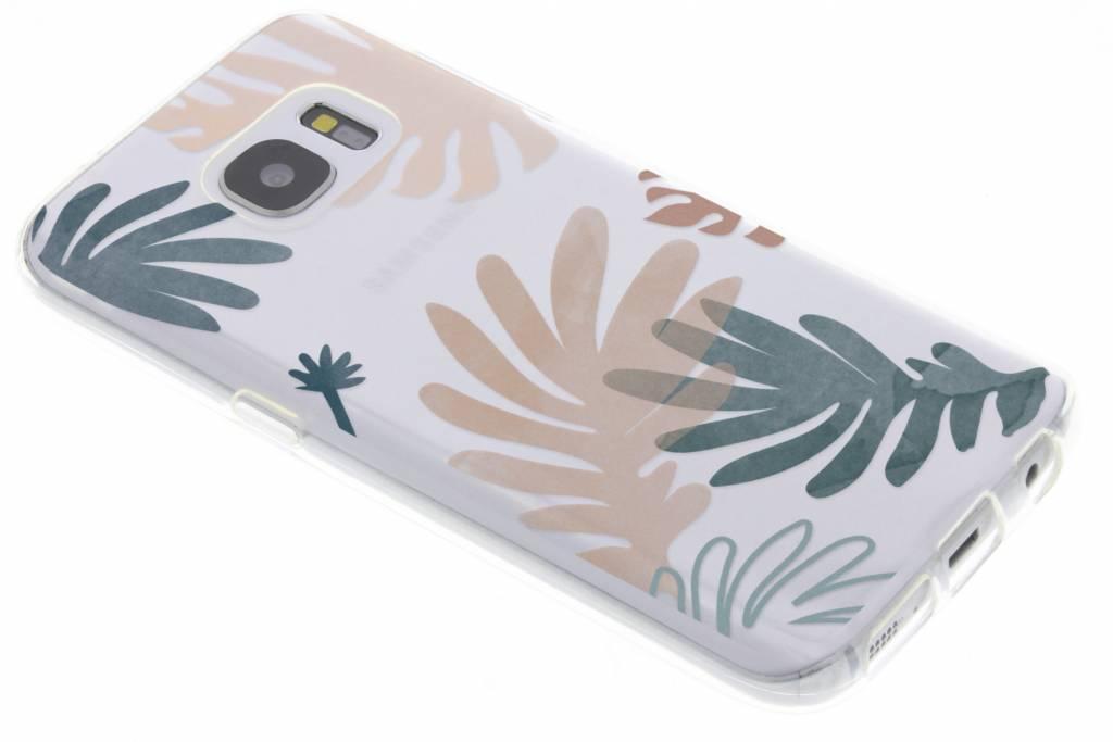 Design Backcover voor Samsung Galaxy S7 - Delicate Planten