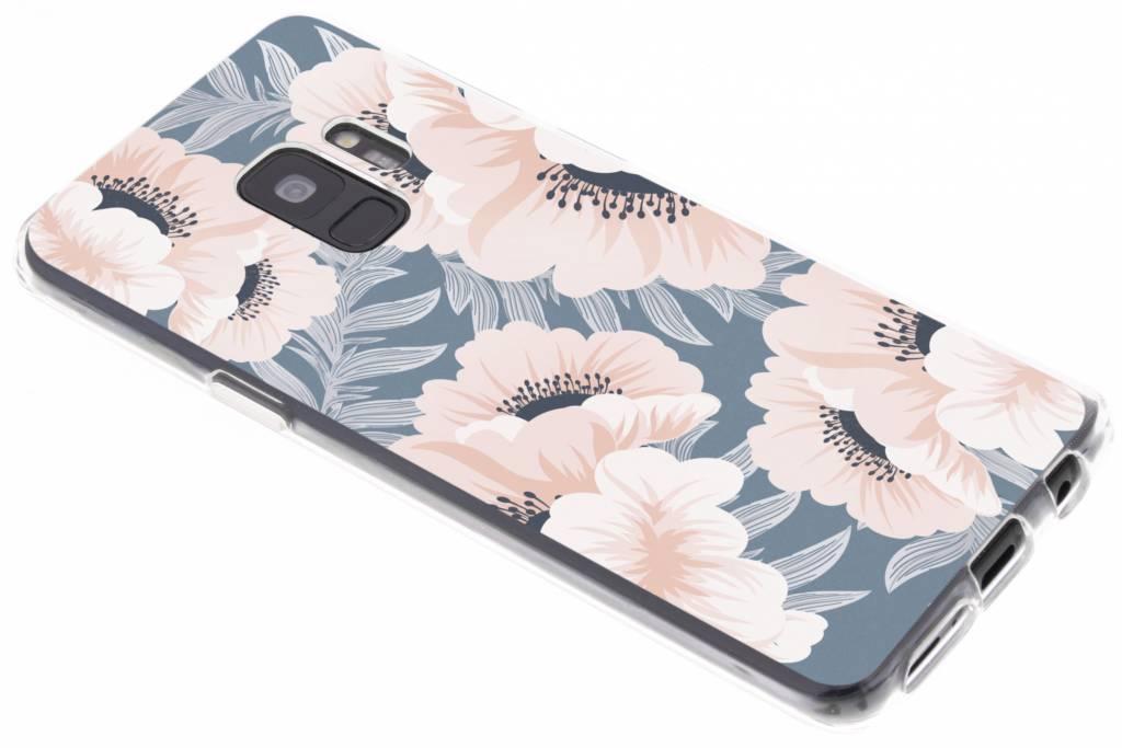 Design Backcover voor Samsung Galaxy S9 - Delicate Bloemen Natuur
