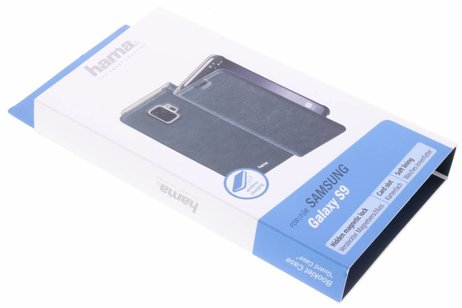 Samsung Galaxy S9 hoesje - Hama Guard Booktype voor