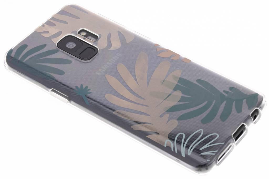 Design Backcover voor Samsung Galaxy S9 - Delicate Planten