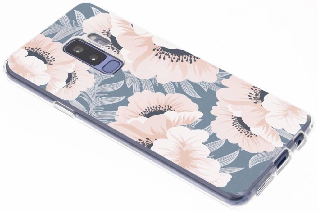Design Backcover voor Samsung Galaxy S9 Plus - Delicate Bloemen Natuur