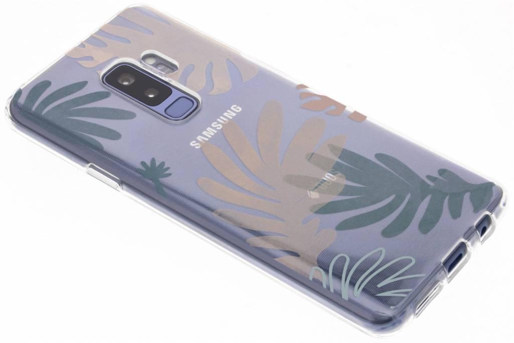 Design Backcover voor Samsung Galaxy S9 Plus - Delicate Planten