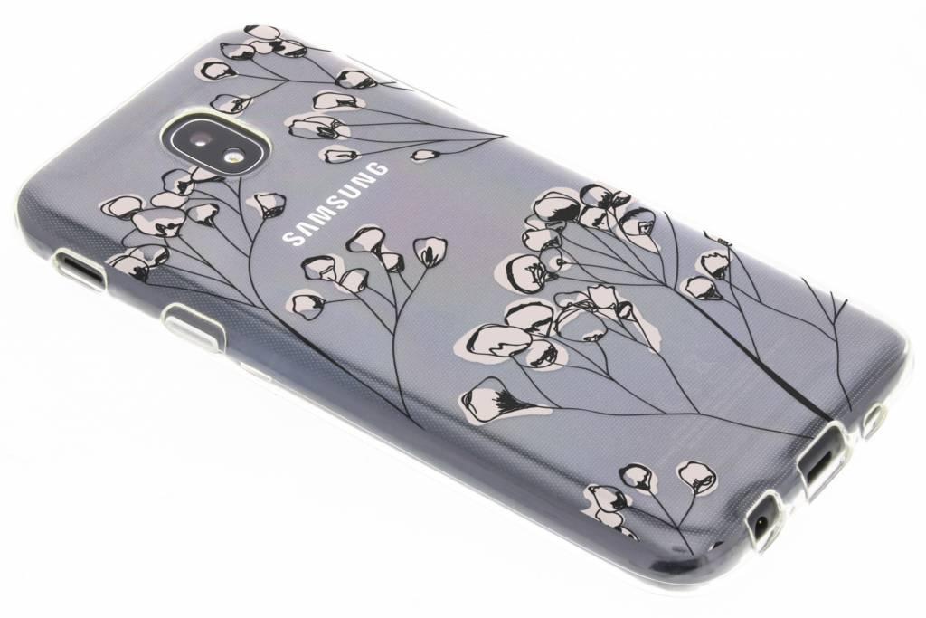 Design Backcover voor Samsung Galaxy J5 (2017) - Delicate Bloemen