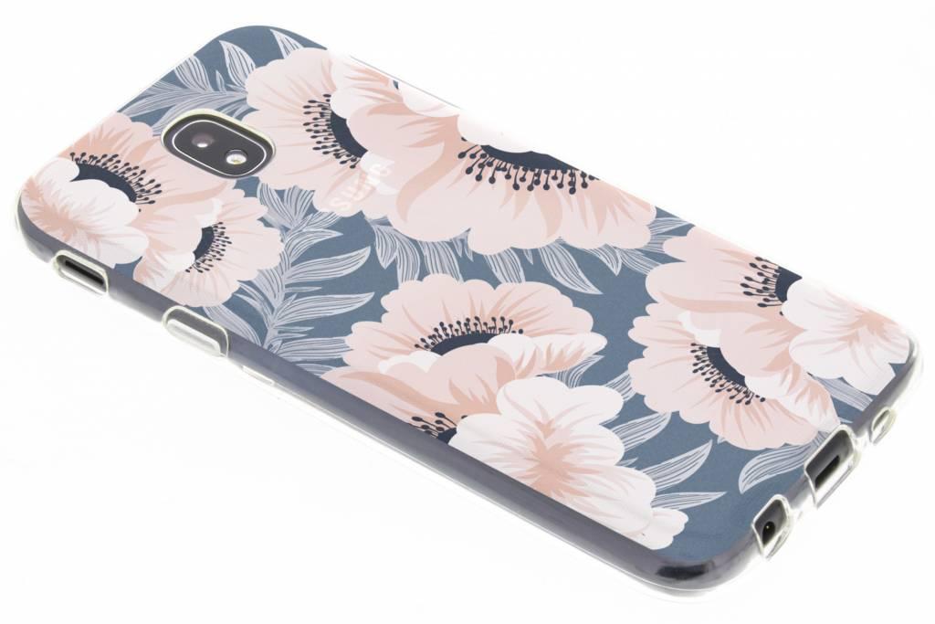 Design Backcover voor Samsung Galaxy J5 (2017) - Delicate Bloemen Natuur