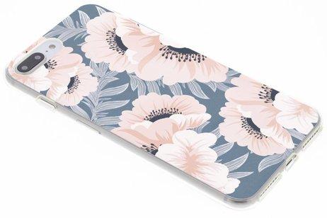 Design Backcover voor iPhone 8 Plus / 7 Plus - Delicate Bloemen Natuur