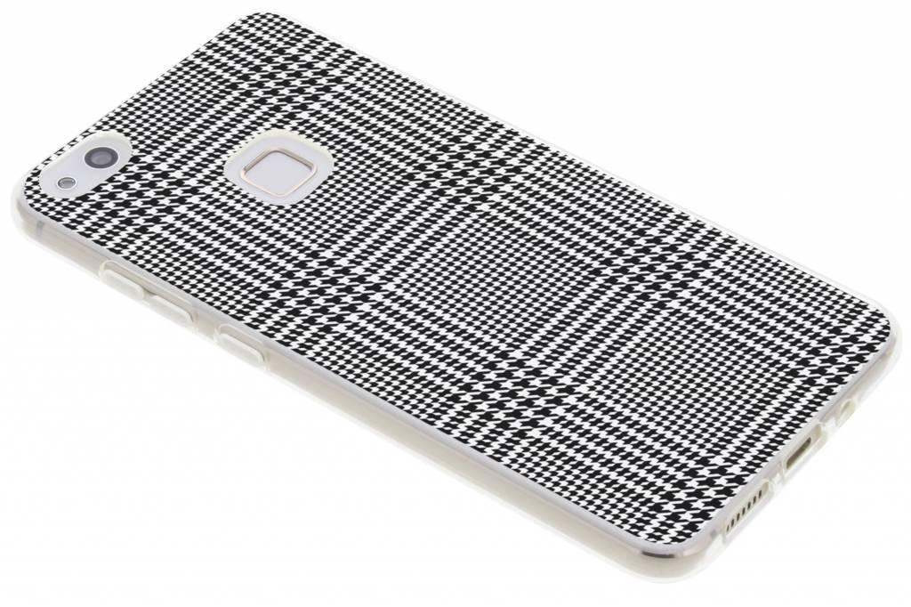 Ruiten design siliconen hoesje voor de Huawei P10 Lite