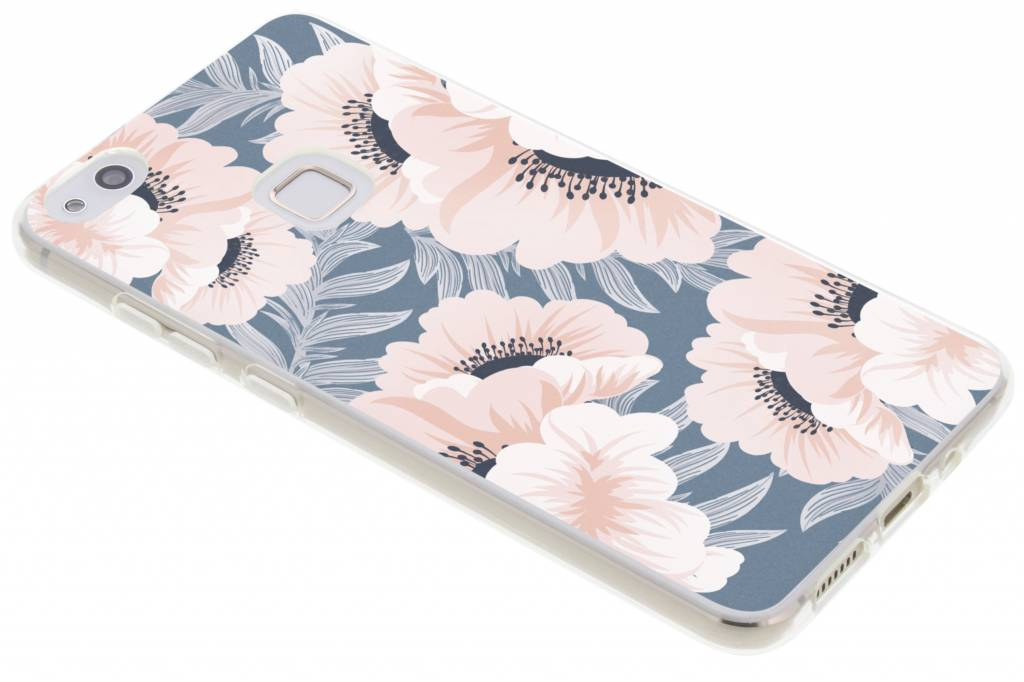 Design Backcover voor Huawei P10 Lite - Delicate Bloemen Natuur