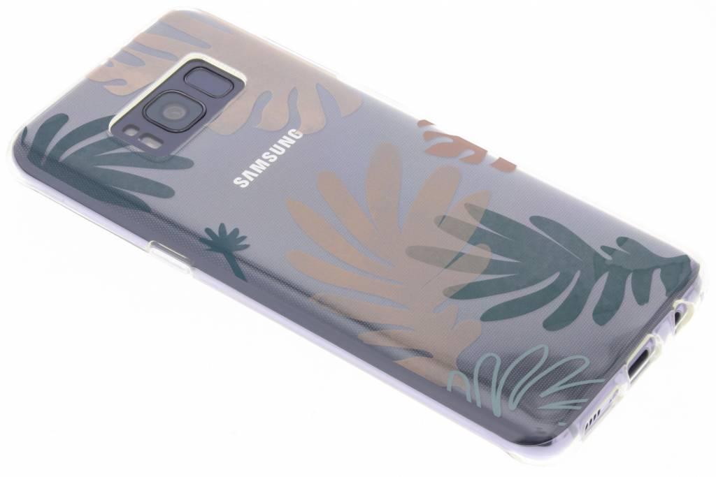 Design Backcover voor Samsung Galaxy S8 - Delicate Planten