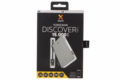 Xtorm Powerbank Discover -15.000 mAh