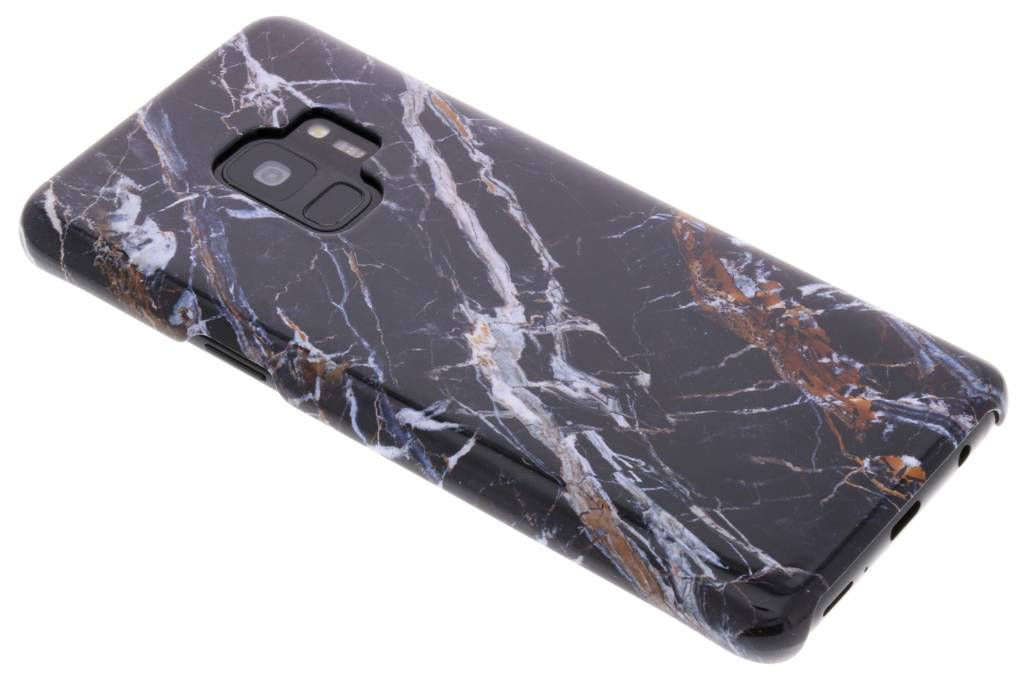 Passion Backcover voor Samsung Galaxy S9 - Marmer Zwart