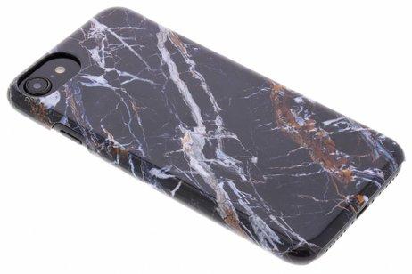 Passion Backcover voor iPhone 8 / 7 / 6s / 6 - Marmer Zwart