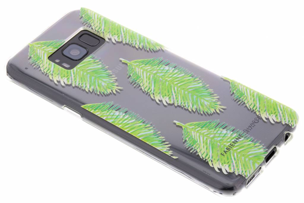 Fabienne Chapot Design Softcase Backcover voor Samsung Galaxy S8 - Blue Lagoon