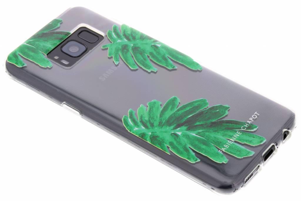 Fabienne Chapot Design Softcase Backcover voor Samsung Galaxy S8 - Citrus Leaf