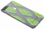 Fabienne Chapot Design Softcase Backcover voor iPhone 8 Plus / 7 Plus - Blue Lagoon