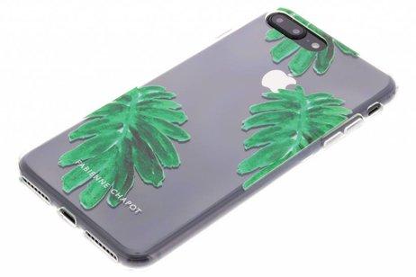 Fabienne Chapot Design Softcase Backcover voor iPhone 8 Plus / 7 Plus - Citrus Leaf
