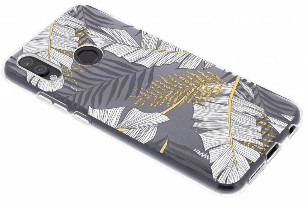 Design Backcover voor Huawei P20 Lite - Glamour Botanic